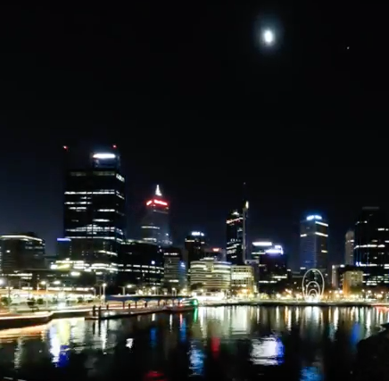 Time Lapse of Elizabeth Quay
